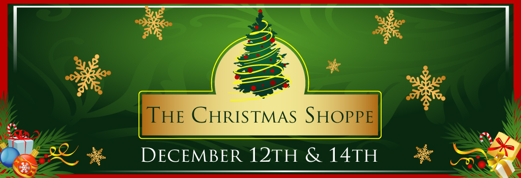 The Christmas Shoppe Web Banner Large